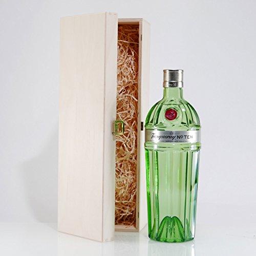 Tanqueray No. TEN Gin mit Geschenk-Holzkiste