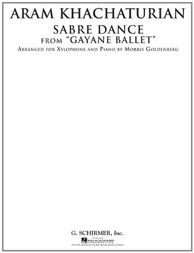 Sabre Dance from Gayane Ballet: Xylophone and Piano