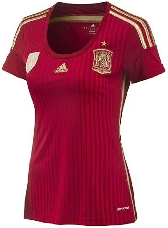 Adidas Spain Women's Home Jerseys Red