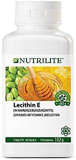 comprar comparacion Lecitina E de NUTRILITE -110 comprimidos/102 gr. La vitamina E es un antioxidante que ayuda a defender el organismo de la ...