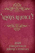 Always Rejoice 2020 Convention Of Jehovah's Witnesses: JW Gifts Jehovah's Witnesses 2020 Notebook Gift | Jehovah's Witnesses Gifts.