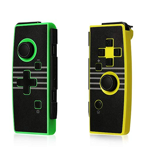 Wireless Controller for Switch, GEEKLIN Left and Right Controller Compatible with Nintendo Switch Console,Controller(L/R)-Yellow