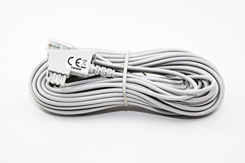 10m GRAU VDSL ADSL Kabel für den IP basierten DSL Anschluss TAE RJ45 VoiP Fritzbox Speedport