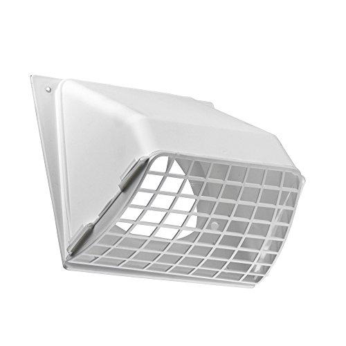 Lambro Industries 1471W Dunstabzugshaube mit abnehmbarem Schirm, 10,2 cm, Weiß – 531032