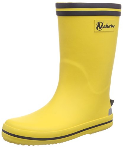 Naturino Unisex-Kinder RAIN Boot. Gummistiefel, Gelb (Gomma Giallo-BLEU), 28 EU