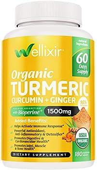 tumeric curcumin supplement organic
