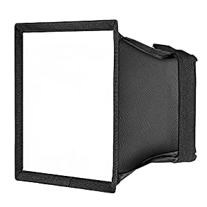 Neewer 5.9x6.7 inches/15x17 centimeters Camera Collapsible Diffuser Mini Softbox for CN-160, CN-126 and CN-216 LED Light (White)