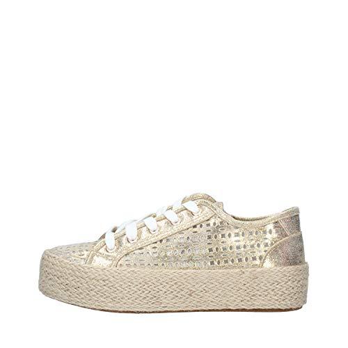 CAFÉ Noir Sneaker Femmes Gold - 40 - Sneaker Low