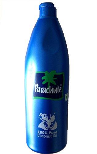 Parachute 100% Pure Premium Coconut Oil 500ml - Edible, Hair, Skin Moisturiser & Conditioner by Parachute
