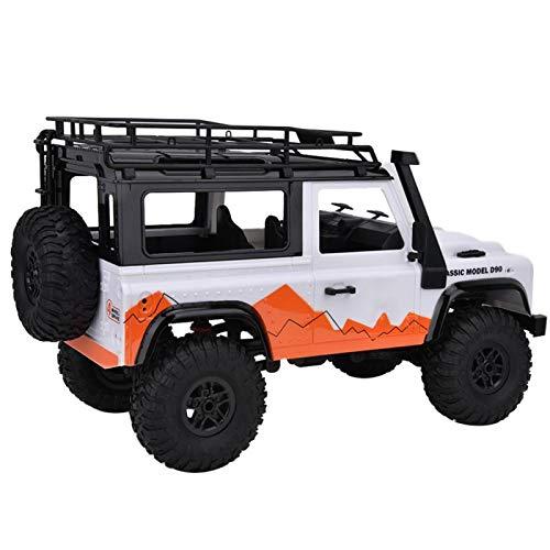 DAUERHAFT Regalo de cumpleaños para niños con Control Remoto para Land Rover(White)