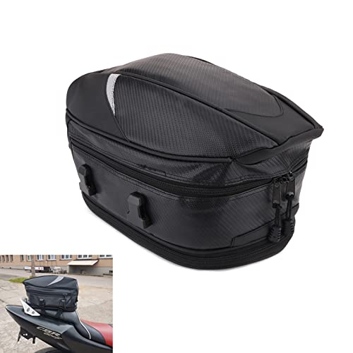Borsa da moto, borsa da sella per moto, borsa impermeabile per casco multifunzionale, borsa da sella, borsa per lo sporco, zaino sportivo