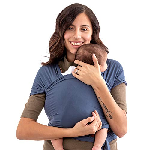 WeeSprout Baby Wrap Carrier - Perfect Baby Carrier Wrap Sling for Newborn and Infant - Enhances Baby Bonding - Soft and Breathable - Ideal for Babywearing