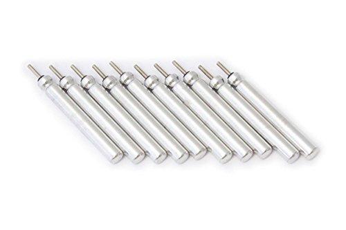 vhbw Lot 10 Batteries bâton Lithium 50mAh (3V) pour Flotteur de pêche, YAD, LED comme Typ BR435, CR435.
