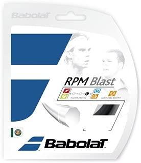 Babolat B241101:18:SET RPM Blast Black 18g Strings