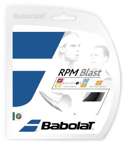 Babolat RPM Blast 12M Cordaje de Tenis, Unisex Adulto, Negro, 125