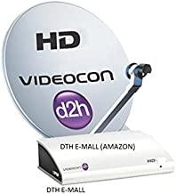 Videocon D2H HD Digital Set Top Box with 1 Month Gold Pack
