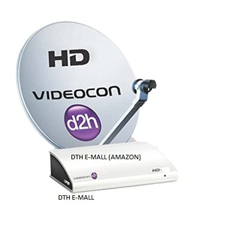 Videocon D2H HD Digital Set Top Box with 1 Month Gold: Amazon in