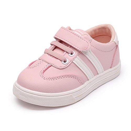 ZODOF Niño pequeño Bebés Bebés Niñas Cuna Empalme Suela Blanda Zapatos Antideslizantes Zapatillas de Deporte Calzado Deportivo Running Zapatos