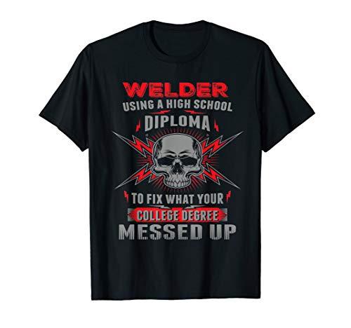 Funny Welding, Proud Welder Tshirt