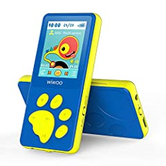 ♬【Original Creative Design】Combining the advantage and shortcomings of various MP3 players on market, our professional team create this Bear's Paw button mp3 players, which is an important breakthrough in kids mp3 players area. More lovely design for...