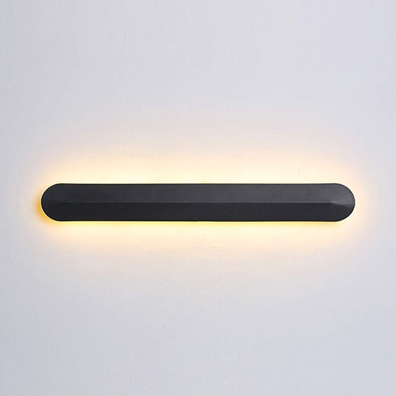 HJGYT LED energiesparende Wandlampen kreative Farbe einfache nordische Wandleuchten Wohnzimmer Korridor Schlafzimmer Bett dekorative Beleuchtung (Farbe   Warmes Licht)
