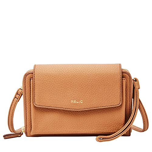 Relic by Fossil Women's Kari Wallet On A String, Color: Camel Model: (RLS9809235)