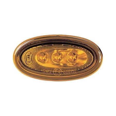 Hella 2ps 008 138 801 Seitenmarkierungsleuchte Led 12v Lichtscheibenfarbe Gelb Led Lichtfarbe Gelb Einbau Einbauort Links Rechts Menge 4 Set Auto