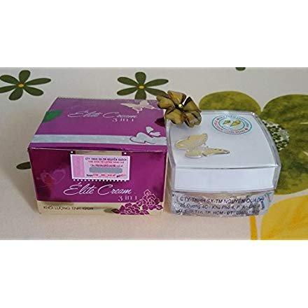 04 boxes - Elite Cream 3 in 1 - Nguyen Quach - Acne Preventing - Lightening Renewable