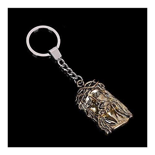 AdorabFruit Schlüsselanhänger Kreuz Jesus Avatar Schlüsselanhänger Männer und Frauen Mode Jesus Christ Jungfrau Maria Schlüsselanhänger Auto Schlüsselanhänger Schmuck (Color : 0095)