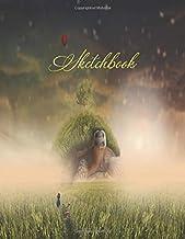 Sketchbook: sketchbook for kids 4-8