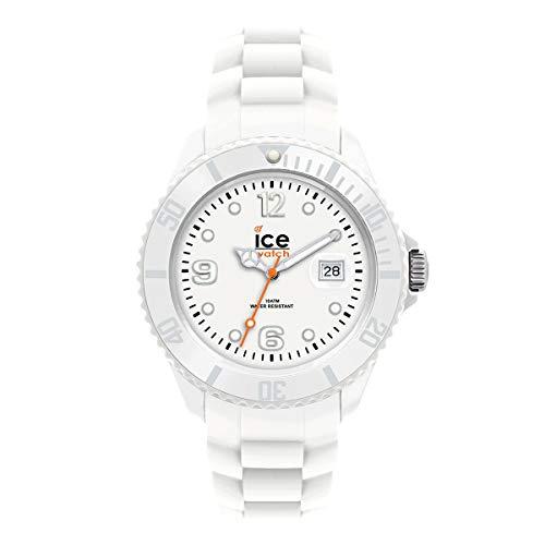 Ice-Watch - ICE forever White - Weiße Herrenuhr mit Silikonarmband - 000144 (Large)