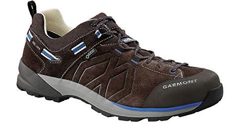 Garmont Santiago Low GTX Herren-Wanderschuhe, Blau (dunkelbraun/blau), 45 EU