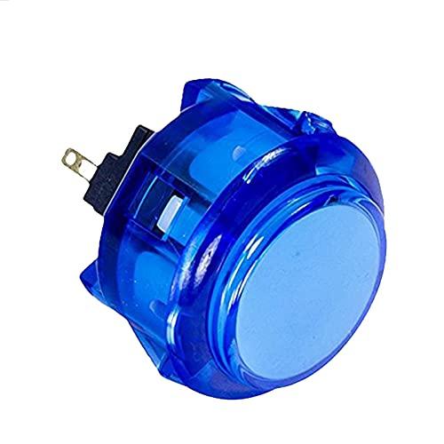 TX GIRL 8 Pezzi Clear Blue Pulsante per SANWA DENSHI Snap Tipo Obbo 30-CB 30mm Diametro W O Filo (Color : Dark Grey)