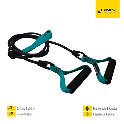 FINIS Training Equiptment Dry Land Cord Medium, green