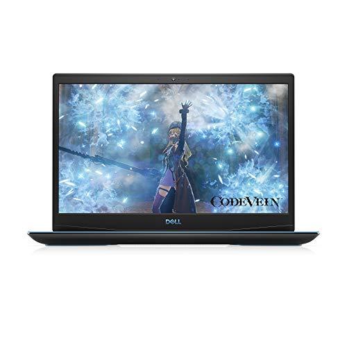 Dell Inspiron G3 15 3500 Intel Core i5-10300H PC Portable Gamer 15,6 FHD 120Hz Eclipse Black 8 Go de RAM SSD 512 Go Nvidia GTX 1650 4GB GDDR6 Windows 10 Clavier Azerty Français retroeclaire