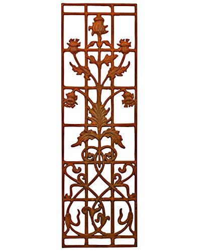 aubaho Fenster Stallfenster Gitter Zaun Balkongitter Balkon Geländer Eisen Antik-Stil a