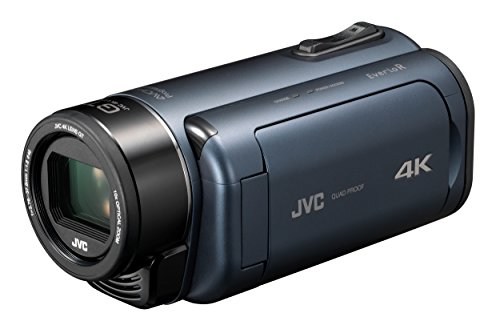 JVC 4K Memory Movie 'Everio R' GZ-RY980-A (Deep Ocean Blue)【Japan Domestic genuine products】【Ships from JAPAN】