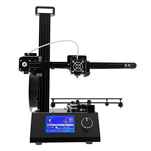Z.L.FFLZ Imprimante 3D Tout l'aluminium et Le matel améliorés d'imprimante de la Version X2 3D avec l'Assemblée de Filament de PLA d'ABS d'impression de lit de Chaleur