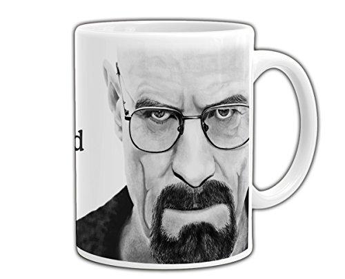 PLSH Tazza Mug Breaking Bad - Walter Hartwell White - Werner Heisenberg - Blue Meth - con Scatola - Idea Regalo per Fan - Not Original Gadget