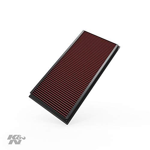 K&N 33-2857 Filtro de Aire Coche, Lavable y Reutilizable