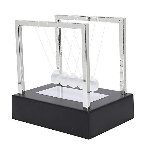 Garosa Bola de péndulo, luz Luminosa LED Newton Cradle Pendulum Balance Swing...