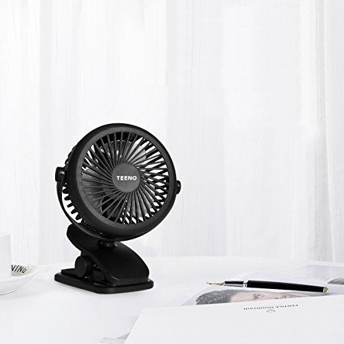 Ventilateur USB Rotation à 360° de...