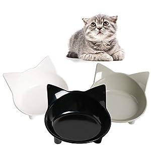 SKRTUAN Katzennäpfe, 3 Stück Futternapf Katze, Futternapf Katze Set, rutschfeste Katzenschale, Futterschüssel Katze… 2