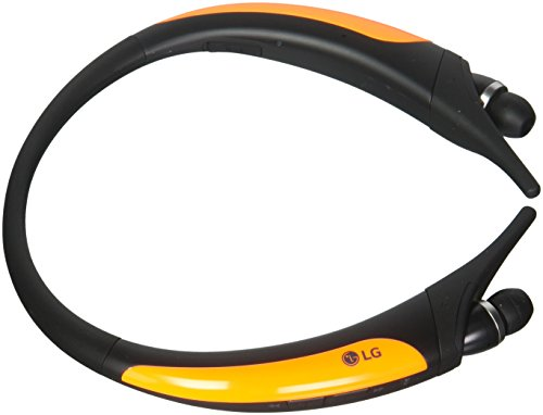 LG Electronics Tone Active Premium Wireless Stereo Headset - Retail Packaging - Orange