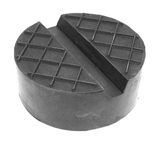 Unbekannt Gummiauflagen zum Reifenwechseln über 50 Varianten Rangierwagenheber Wagenheber Hebebühne Gummiklotz Auflage Unterstellbock Gummiblock Auto KFZ PKW Schutz Kratzer rund eckig