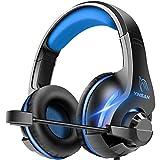 YINSAN TM7 Cuffie Gaming PS4, Cuffia Gamer PS5 con Microfono,...