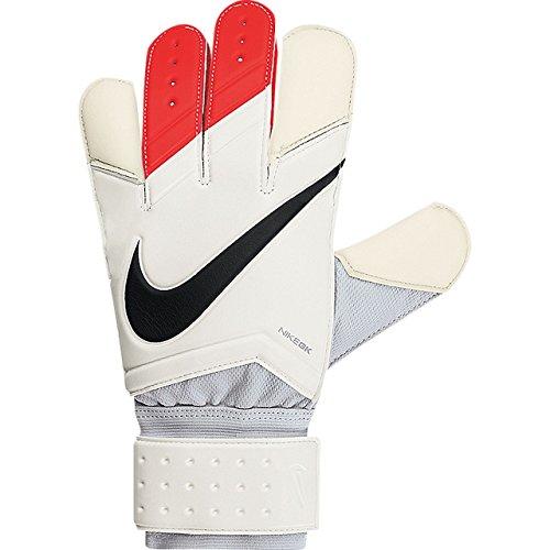 Nike Torwarthandschuhe Goalkeeper Grip 3, White/Total Crimson/Black, 8