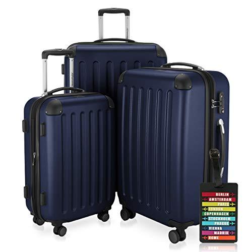 Hauptstadtkoffer Valigia, blu scuro (Blu) - HK1203-DB+KA