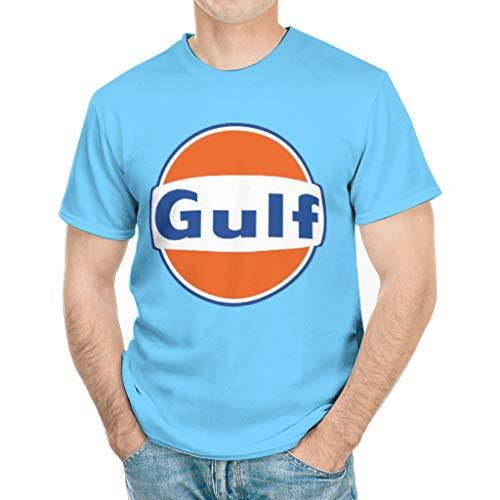 Gulf T Shirt Mens Cool Funny Short Sleeve Gulf White XXL