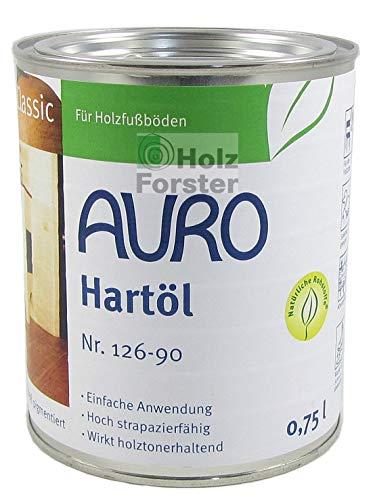 AURO Hartöl Classic Nr. 126-90 Weiß pigmentiert, 0,75 Liter